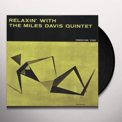 RELAXIN WITH THE MILES DAVIS QUINTET Vinyl Record - 200 Gram Edition
