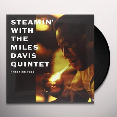 STEAMIN WITH THE MILES DAVIS QUINTET Vinyl Record - 200 Gram Edition
