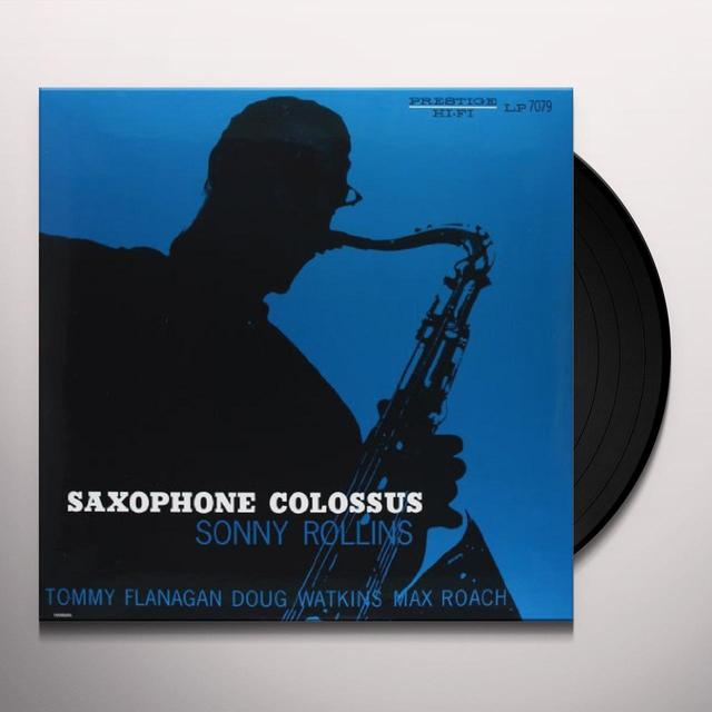 Sonny Rollins SAXOPHONE COLOSSUS Vinyl Record - 200 Gram Edition