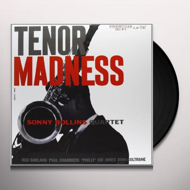 Sonny Rollins TENOR MADNESS Vinyl Record - 200 Gram Edition