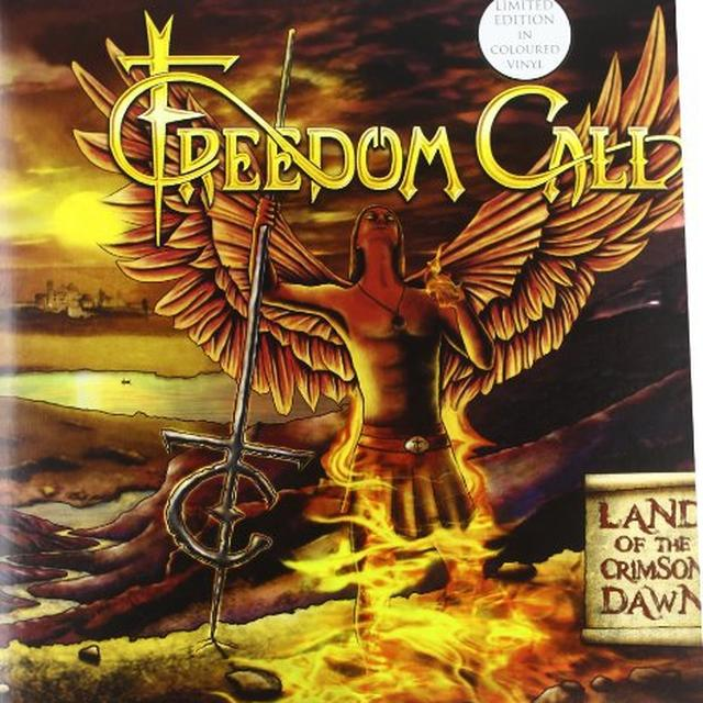 Freedom Call LAND OF THE CRIMSON DAWN Vinyl Record