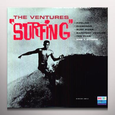 Ventures SURFING Vinyl Record - Colored Vinyl