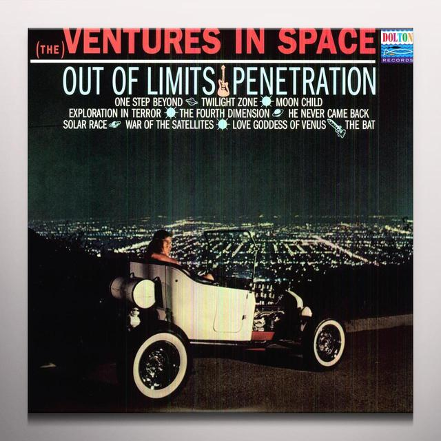 Ventures IN SPACE Vinyl Record - Colored Vinyl