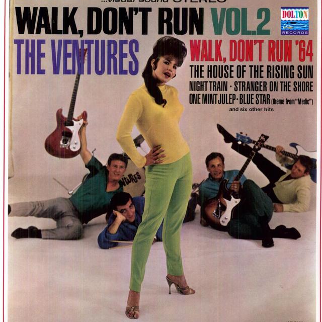 Ventures WALK DON'T RUN 2 Vinyl Record