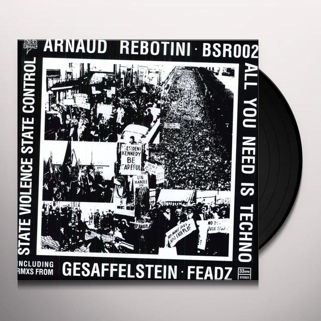 Arnaud Rebotini ALL YOU NEED IS TECH Vinyl Record
