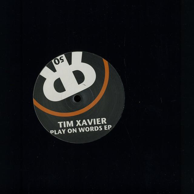Tim Xavier PLAY ON WORDS (EP) Vinyl Record