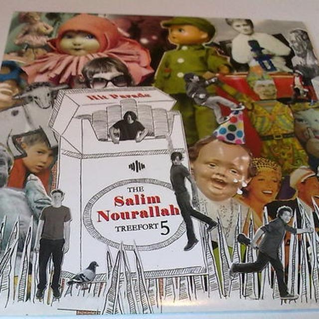 Salim Nourallah HIT PARADE Vinyl Record - w/CD