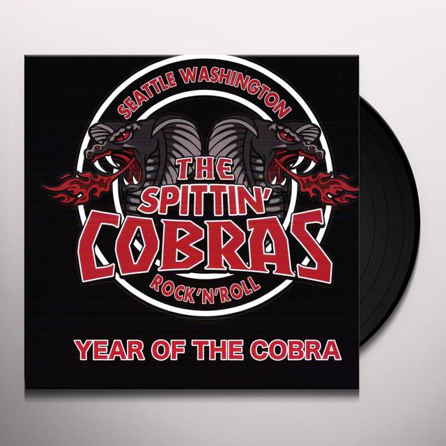 Spittin Cobras YEAR OF THE COBRA Vinyl Record