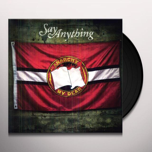 Say Anything ANARCHY MY DEAR Vinyl Record