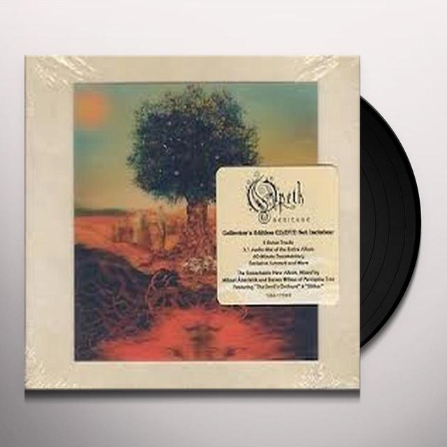 Opeth HERITAGE Vinyl Record - 180 Gram Pressing