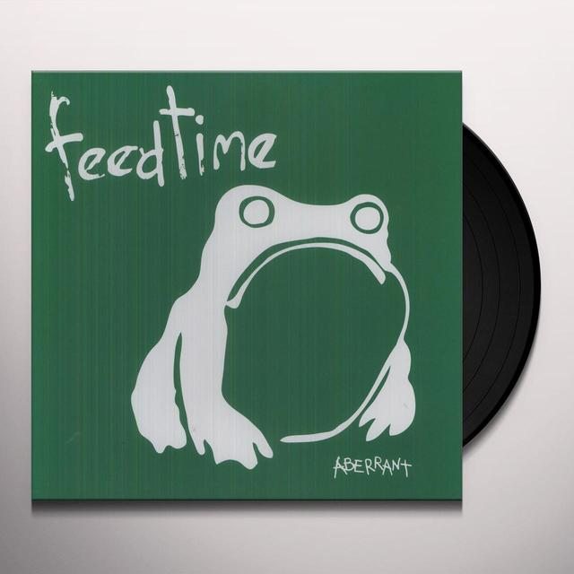 Feedtime ABERRANT YEARS Vinyl Record - Limited Edition