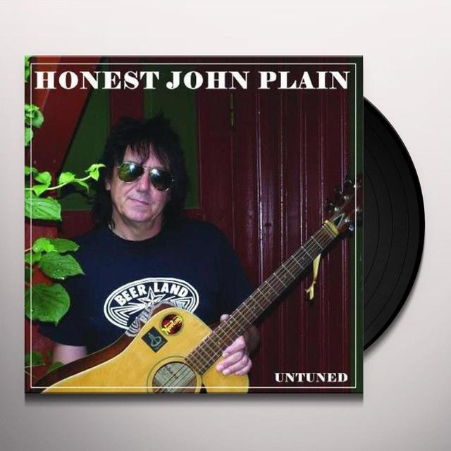 Honest John Plain UNTUNED Vinyl Record