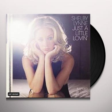 Shelby Lynne JUST A LITTLE LOVIN Vinyl Record - 200 Gram Edition