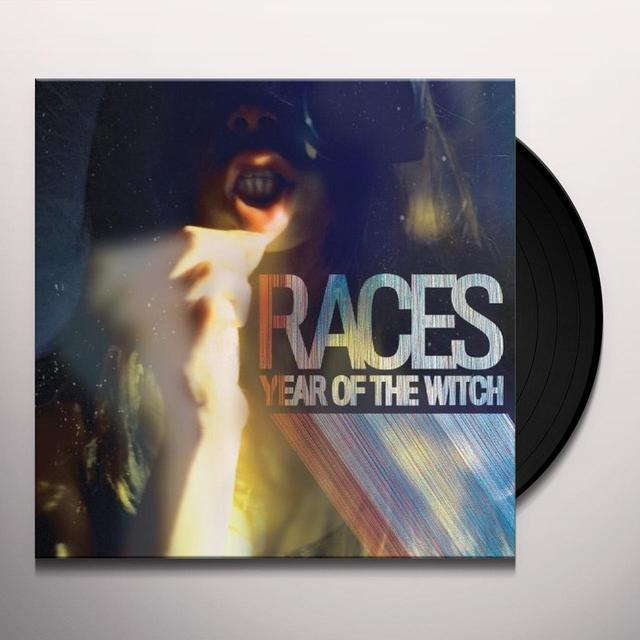 Races YEAR OF THE WITCH Vinyl Record