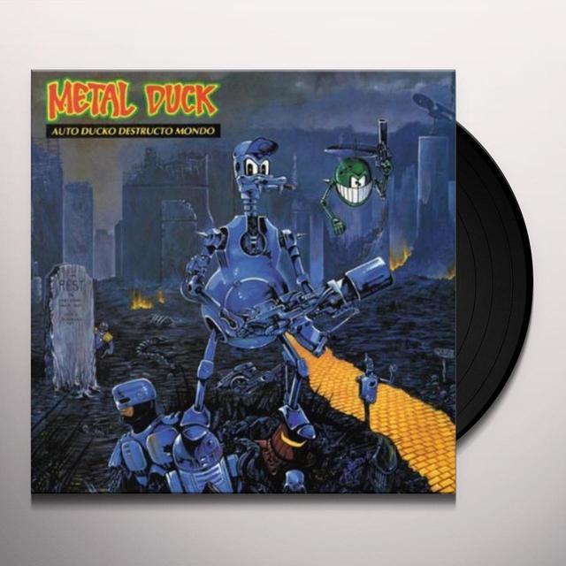 Metal Duck AUTO DUCKO DESTRUCTO MONDO Vinyl Record