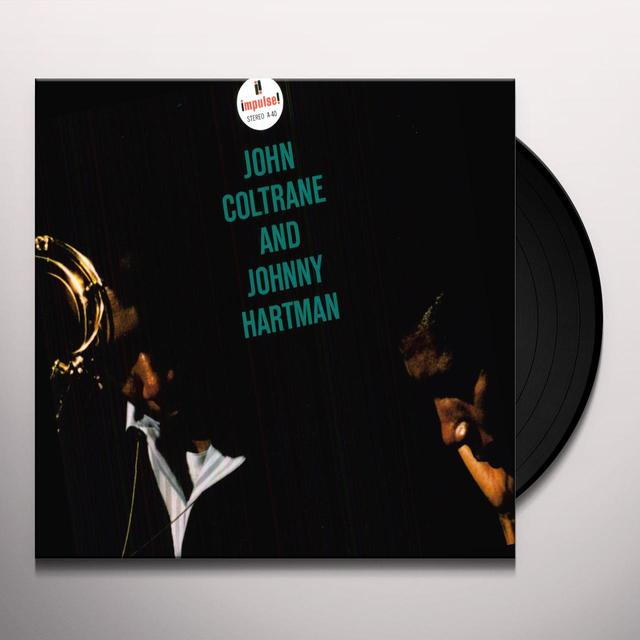 John Coltrane / Johnny Hartman JOHN COLTRANE & JOHNNY HARTMAN Vinyl Record - 180 Gram Pressing