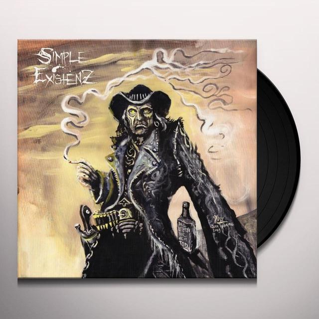 Simple Existenz DAS LEBEN VOR DEM TOD Vinyl Record