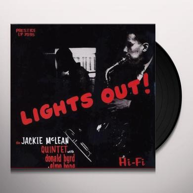 Jackie Mclean / Donald Byrd / Elmo Hope LIGHTS OUT Vinyl Record