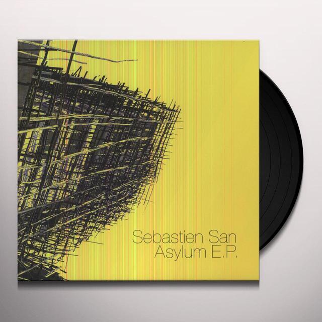 Sebastien San ASYLUM (EP) Vinyl Record