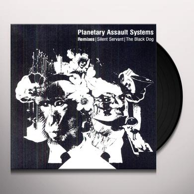 Planetary Assault Systems REMIXES: SILENT SERVANT / BLACK DOG Vinyl Record