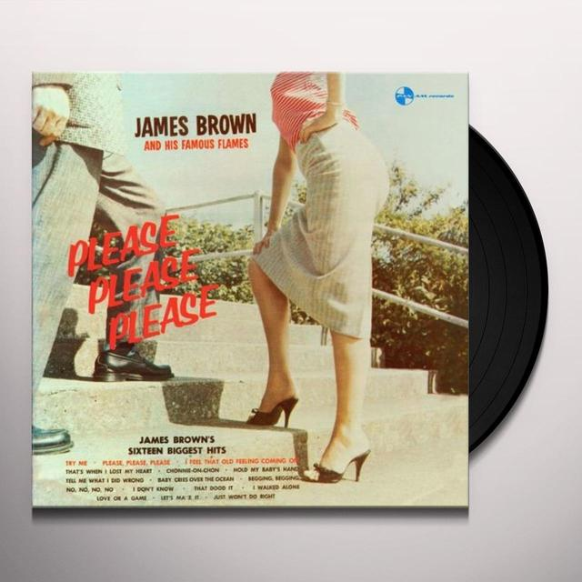 James Brown & His Famous Flames PLEASE PLEASE PLEASE Vinyl Record