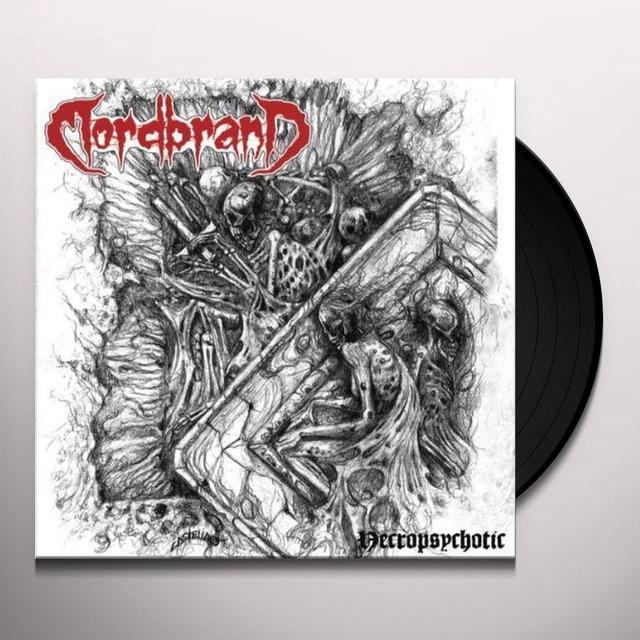 Mordbrand NECROPSYCHOTIC Vinyl Record