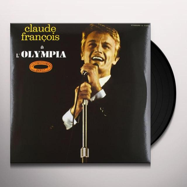 Claude François OLYMPIA 1964 Vinyl Record - Limited Edition