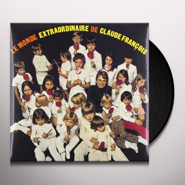 Claude François LE MONDE EXTRAORDINAIRE DE CLAUDEFRANCOIS Vinyl Record