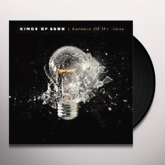 Kings Of Leon BECAUSE OF THE TIMES Vinyl Record - 180 Gram Pressing