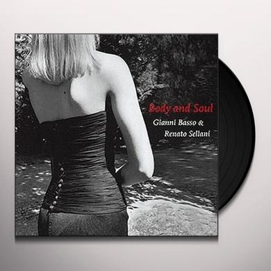 Gianni Basso BODY & SOUL Vinyl Record - Spain Release