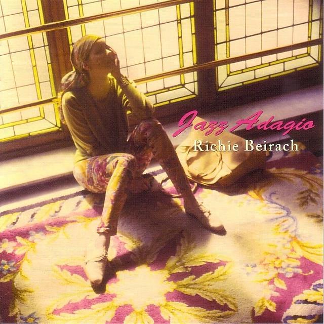 Richie Beirach JAZZ ADAGIO Vinyl Record - Spain Import