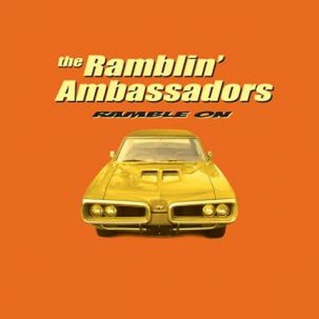 Ramblin Ambassadors RAMBLE ON Vinyl Record
