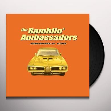 Ramblin Ambassadors RAMBLE ON Vinyl Record