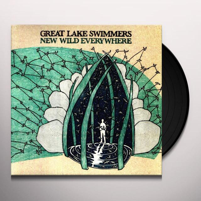 Great Lake Swimmers NEW WILD EVERYWHERE (BONUS TRACKS) Vinyl Record