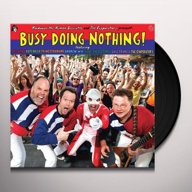 BUSY DOING NOTHING / VARIOUS Vinyl Record