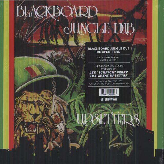 "Lee ""Scratch"" Perry BLACKBOARD JUNGLE DUB Vinyl Record - Limited Edition"