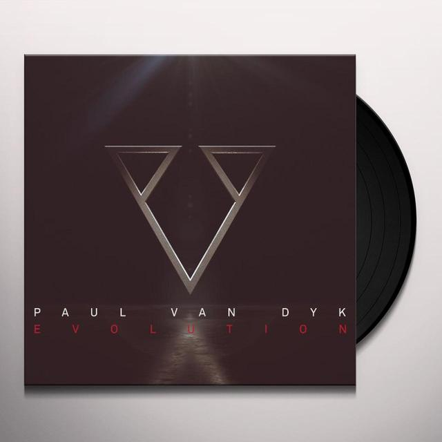 Paul Van Dyk EVOLUTION Vinyl Record - 180 Gram Pressing