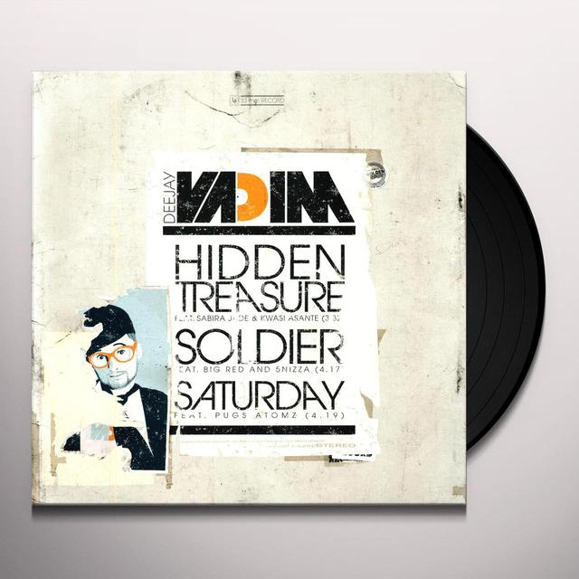 Dj Vadim HIDDEN TREASURE Vinyl Record