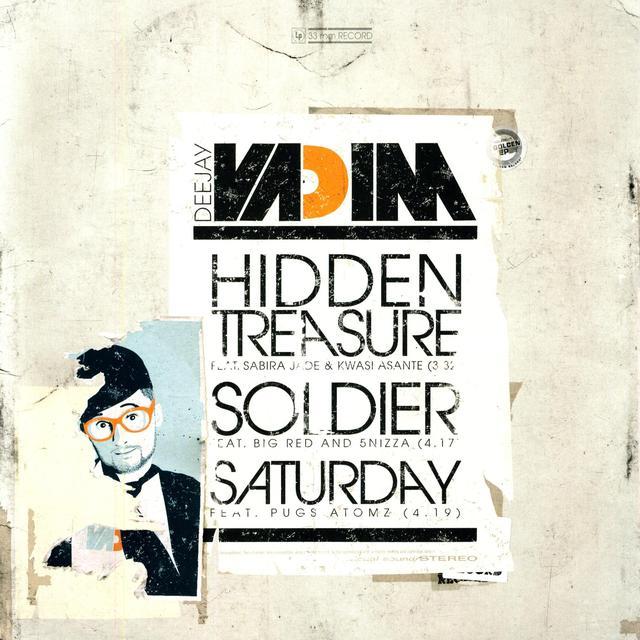 Dj Vadim HIDDEN TREASURE Vinyl Record