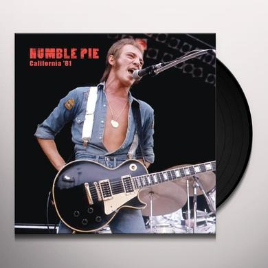 Humble Pie CALIFORNIA 81 Vinyl Record