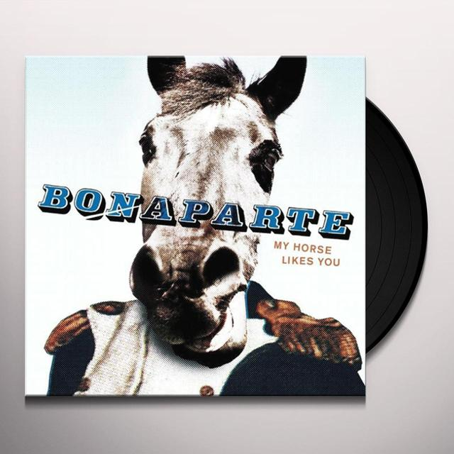 Bonaparte MY HORSE LIKES YOU Vinyl Record