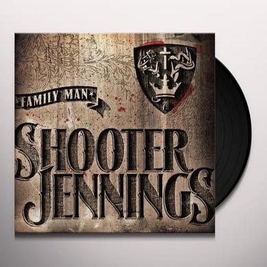 Shooter Jennings FAMILY MAN Vinyl Record