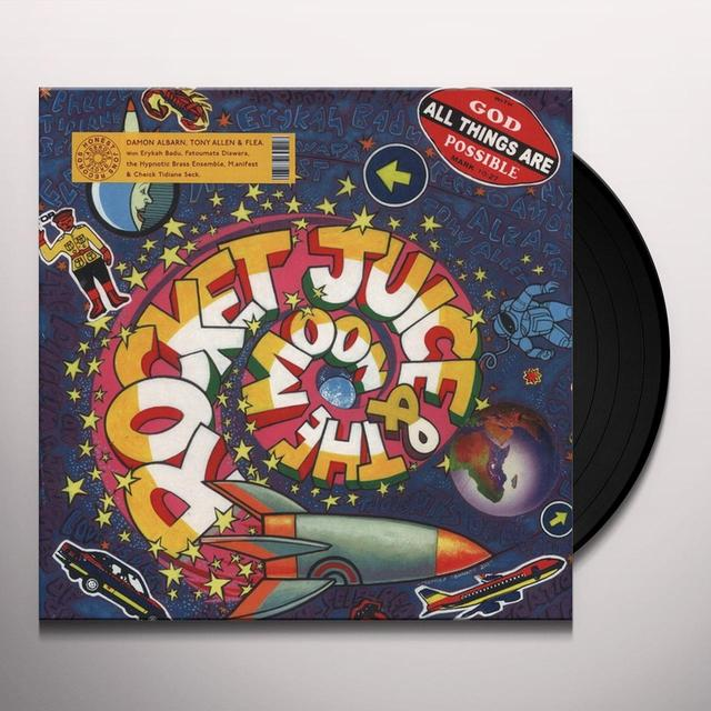 ROCKET JUICE & MOON Vinyl Record