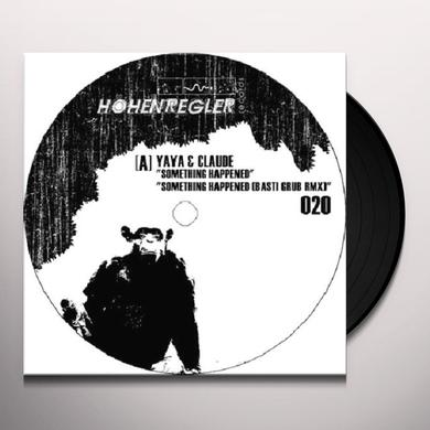 Yaya SOMETHING HAPPENED Vinyl Record - Remix