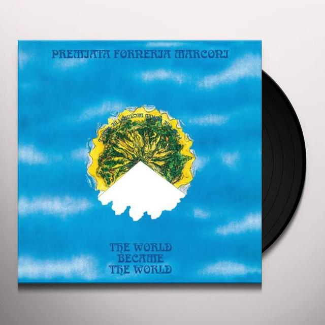 Pfm WORLD BECAME THE WORLD Vinyl Record