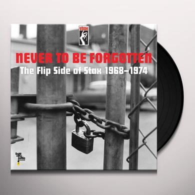 NEVER TO BE FORGOTTEN: FLIP SIDE OF STAX / VARIOUS Vinyl Record