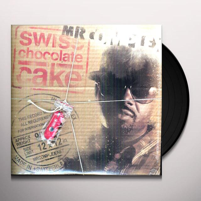 Mr Complex SWISS CHOCOLATE CAKE (Vinyl)