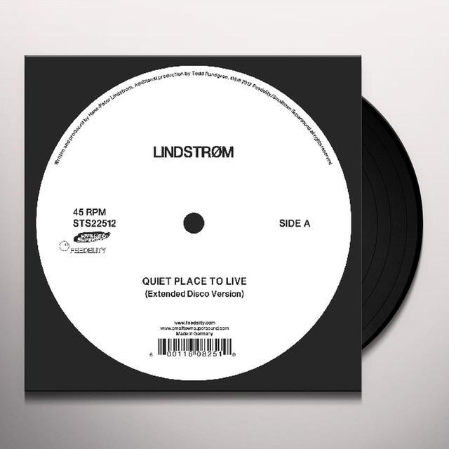 Lindstrøm QUIET PLACE TO LIVE Vinyl Record