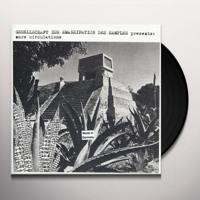 Gesellschaft Zur Emanzipation Des Samples MORE CIRCULATION Vinyl Record
