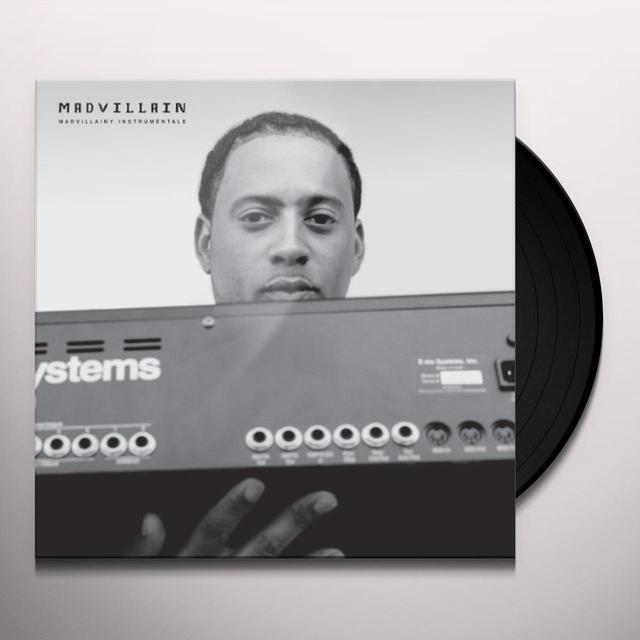 Madvillainy INSTRUMENTALS Vinyl Record